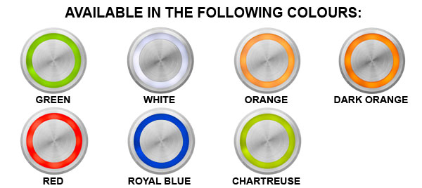 Piezo Switches - Colours Available