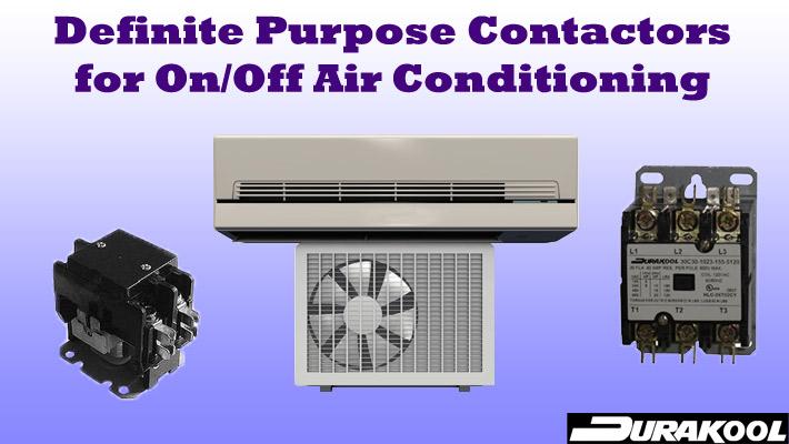 Durakool Definite Purpose Contactors Air Conditioning