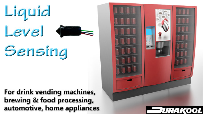 Durakool - Liquid Level Sensing - Vending Machine