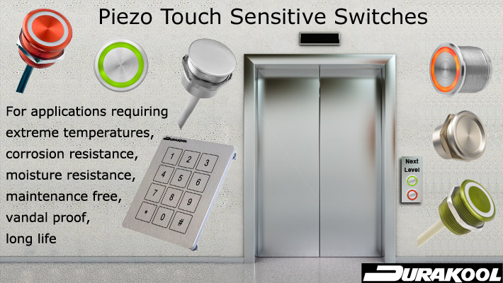 Durakool - Piezo Touch Sensitive Switches