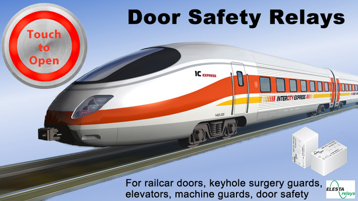 Elesta - Door Safety Relays - Train